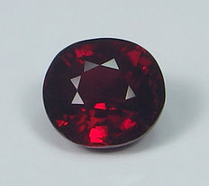 Ruby ( Crimson Red ) - 1.03 ct