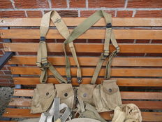 Very fine lot equipment U.S.A. WW2.