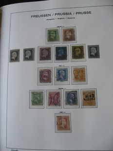 Prussia and Saxony 1850-1867 - Stamp collection
