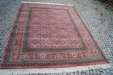 Indo Bidjar Perfect Orient Rug 260x200cm -hand knotted with signature in wool