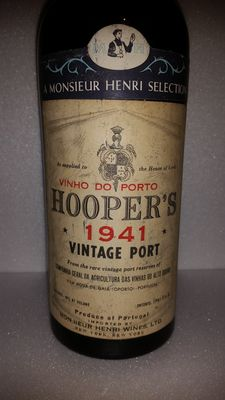 1941 Vintage Port - Hooper's - 75 cl