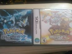 2 DS Pokemon games Black and white version 2