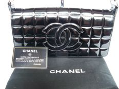"Chanel - Timeless ""chocolate bar"" handbag"