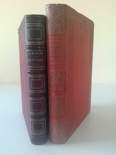 "Lot of 2 books ""découvertes du monde "" - 1866/1906"