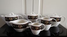 Villeroy & Boch Intarsia tableware pieces - 6 x