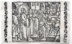 Three Woodengravings by an Unknown Artist (16th century) - Biblical story's from the famous Van Liesvelt Bible - 1542