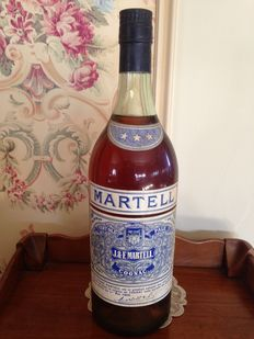 Cognac Martell Three Star - Very Old Pale - 2 Liter Magnum - Bottled late 1950s/early 1960s