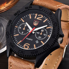 XI New – military style men's watch