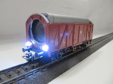 Märklin H0 - Video wagon in HD-resolution with 2 switchable  LED-headlights