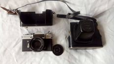 Vintage Zenit EM SLR 35 mm reflex  Camera about 1970