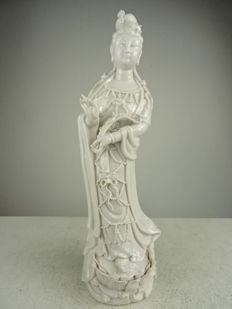 Blanc de Chine sculpture from Guanyin – China – approx. 1970