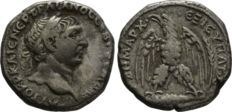 Roman Empire - Seleucis and Pieria. Antioch. Trajan. /b (98-117). AR Tetradrachm