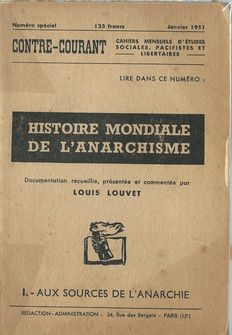 Anarchistes; Lot de 8 revues de Louis Louvet e.a. - 1951/1978