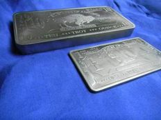 10 ounce + 1 ounce 999 XXL Titanium Bars - American Buffalo Bullion Rare Earth Metals