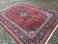 XXL Persian Keshan Rug-360x250cm -hand knotted