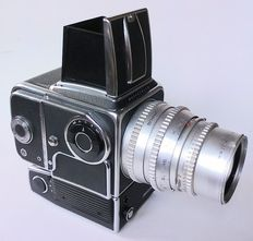 Hasselblad 500EL/M Chrome - 150mm f/4 Zeiss Sonnar C lens chrome Hasselblad V