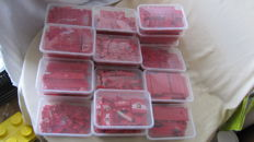 Assorted - 5 kg Lego - red bricks