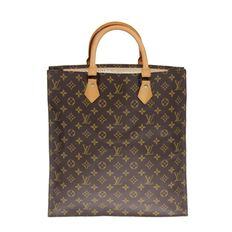 Louis Vuitton – Monogram Sac Plat – Vintage handbag
