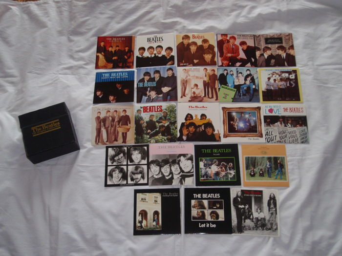The Beatles - CD Singles Collection - Parlophone (CD BSCP 1), Box Set, 22 x CD, All With, used for sale