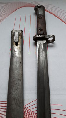 Bayonet ZB (Zbrojovka Brno), used in the second world war by the Romanian army and the German army