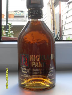 Whisky Highland Park 12 years old - 43° - 75cl