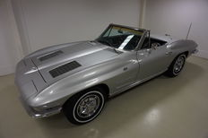Chevrolet - Corvette Sting Ray C2 Convertible - 1963
