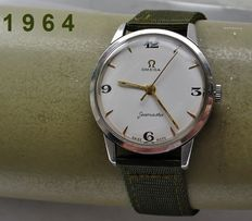 O M E G A -- Seamaster -- men's model + Warranty -- 1964