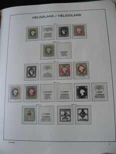 Helgoland and Lubeck 1859-1866 - Stamp collection