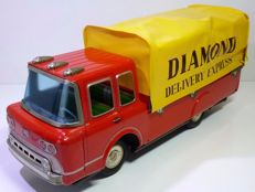Yonezawa, Japan - Length 38 cm - Tin Ford Diamond Delivery Express Truck with friction motor, 1960s