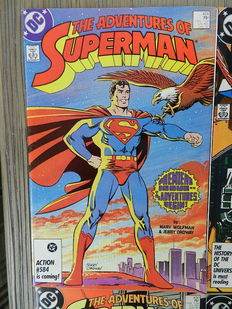 The Adventures of Superman Vol.1 - 34 nos. + Annual + Superman Confidential # 1-13 + various Superman limited series - 61x sc - (1987 / 2013)