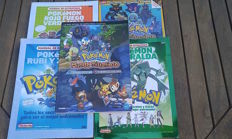 5 Manuals and pokemon strategy guides