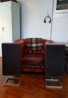 B&O Beovox S75 speakers complete with stands