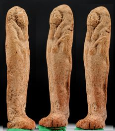 Egyptian clay Shabti - ca. 6 cm - c. 2,36 inches