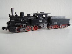Arnold N - Steam locomotive with tender BR 89 of the DR