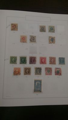 Sweden 1858/2009 - Batch in album and stock book