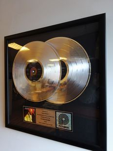 Elvis Presley RCA/Pickwick In-house 2x Platinum Award - You'll never walk alone