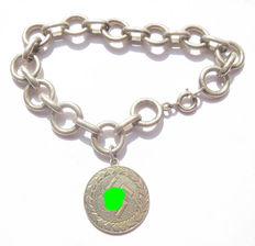 German bracelet with cross from the Spanish civil war - Second World War Period