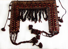 Authentic Belouch Amulet Tent Kapanuk c. 110x180cm with tassels