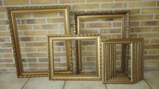 Collection of vintage painting/photo frames