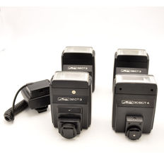 4 x Metz Flash Unit