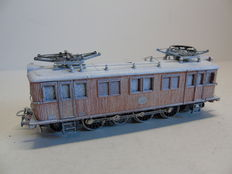 "Märklin H0 - 3171 - Electric ""Wood locomotive"" D109 of the Swedish SJ, edition with snow"