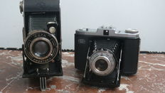 Agfa Billy Record Prontor 2 ,  Zeiss Ikon Nettar 517/16