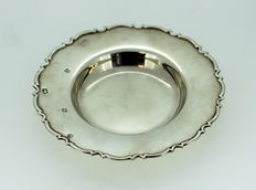 Solid Sterling Silver Butter Dish, Sheffield 1993, R. Carr Ltd