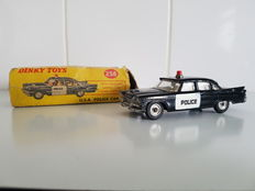 Dinky Toys - Scale 1/43 - U.S.A Dodge Police Car No.258