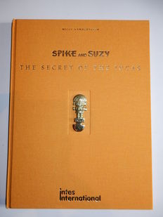 Spike and Suzy - The secret of the Incas - met bronzen inca-reliëf  - Luxe linnen hc - 1e druk (2000)