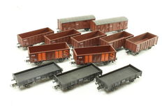 Roco H0 - 12 Goods wagons of the NS