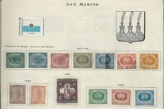 San Marino and Vatican from the initial years to 1961