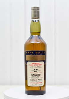 Cardhu 1973 UDV Rare Malts Collection 27yo 1973-2000