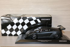 Minichamps - Scale 1/18 - Lamborghini Gallardo LP 600 GT3 - Black