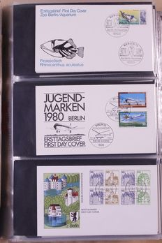 World – Batch of FDC's and EDB Germany + various
